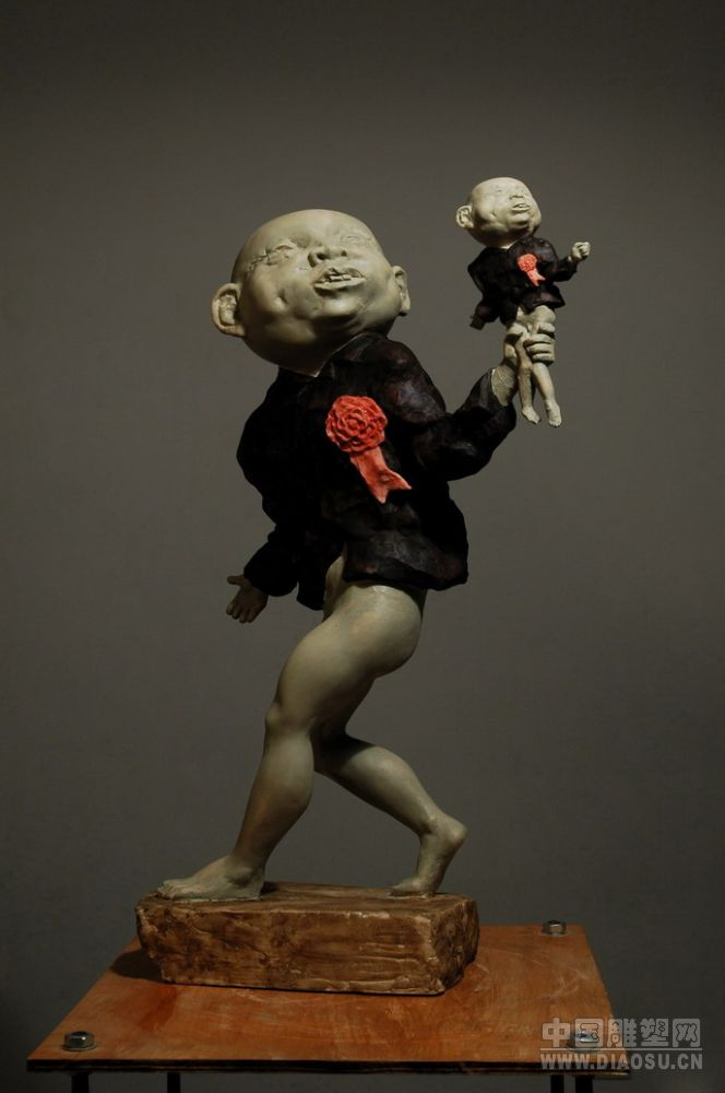 有趣的人物雕塑